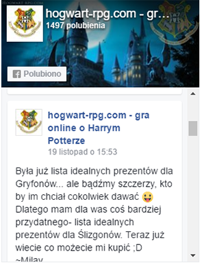facebook hogwart-rpg